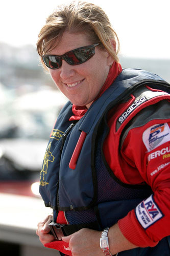 Great powerboating ladies: Shelley Jory