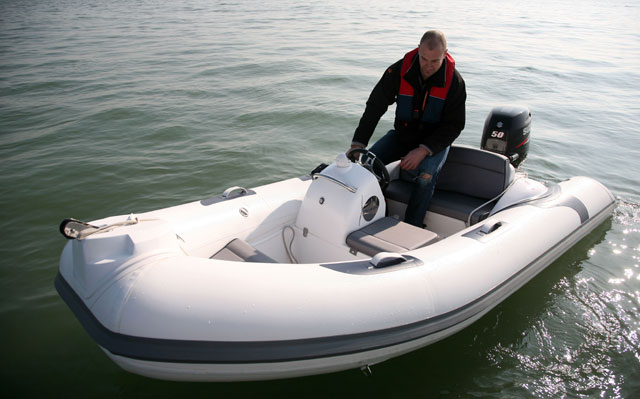 A small sub-4m 50hp RIB from Piranha