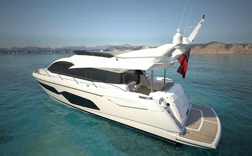 London Boat Show Sunseeker Manhattan 66