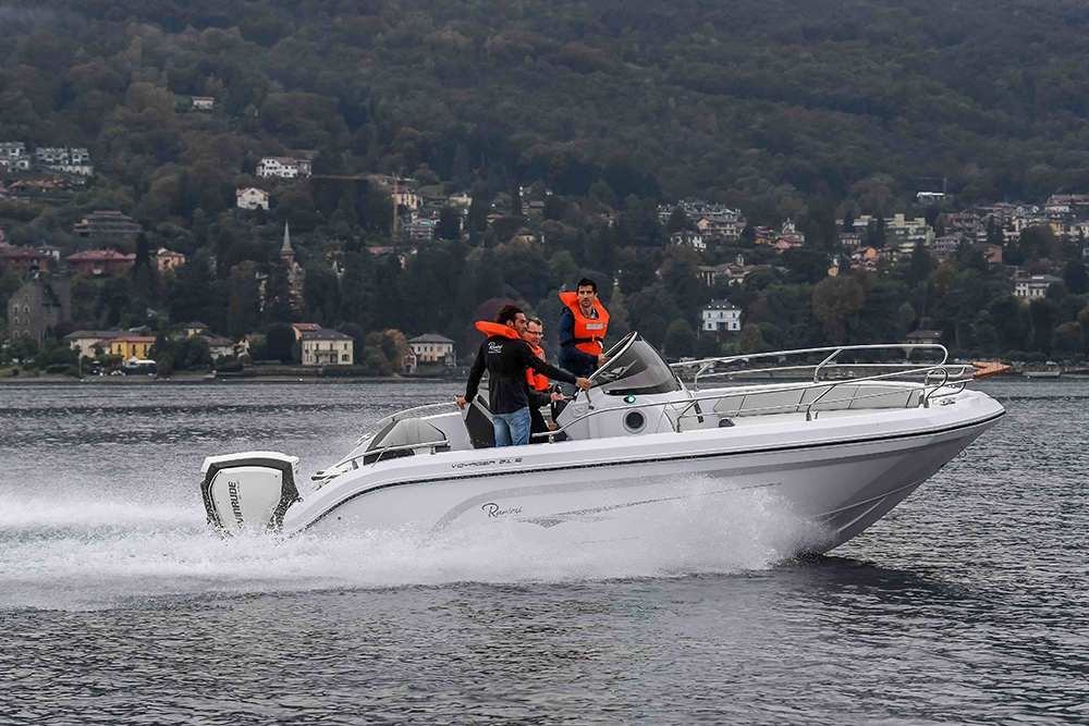 20-foot powerboats Ranieri 195