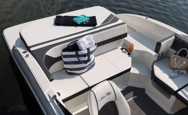 Seating for 11: Sea Ray 19 SPX