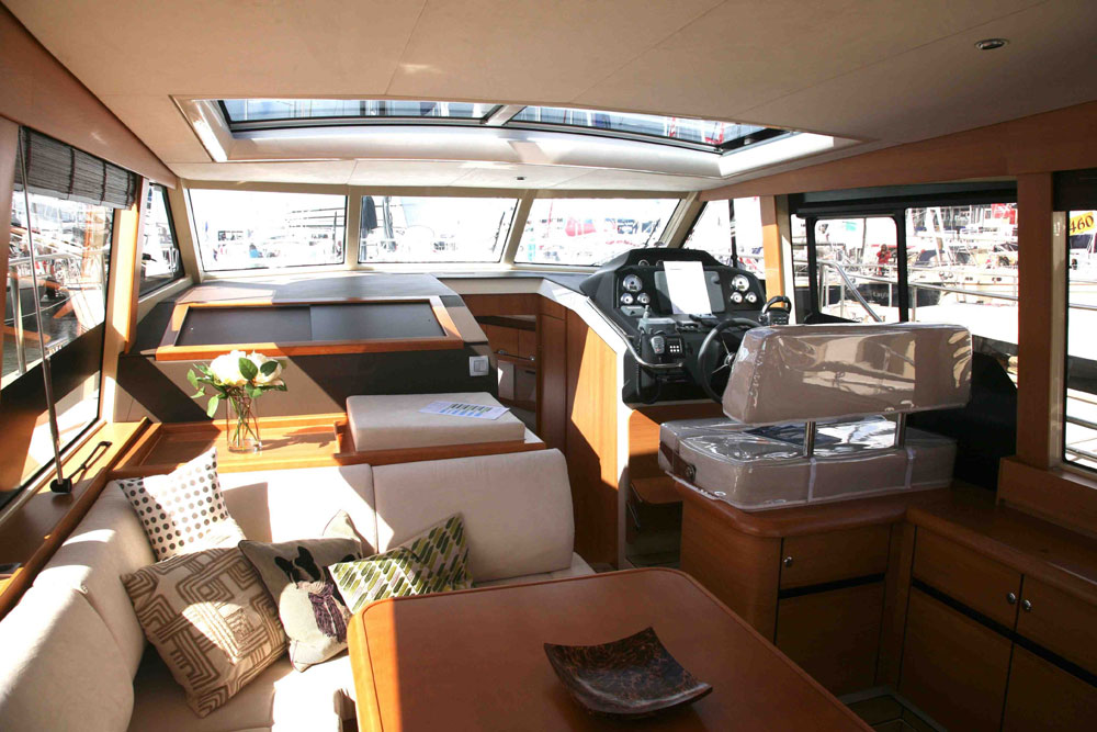 Greenline 40: attractive hybrid concept