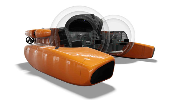 Triton submersible - boats to impress
