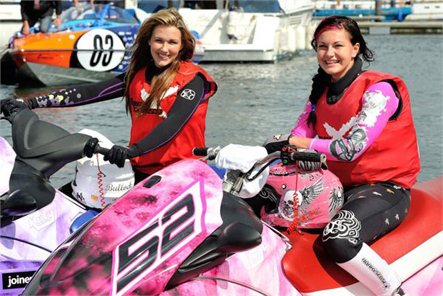 X-Factor finalist Katy Bullock joins Aqua-X jetski racing