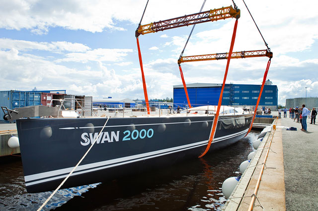 Swan number 2000 is launched in Finland