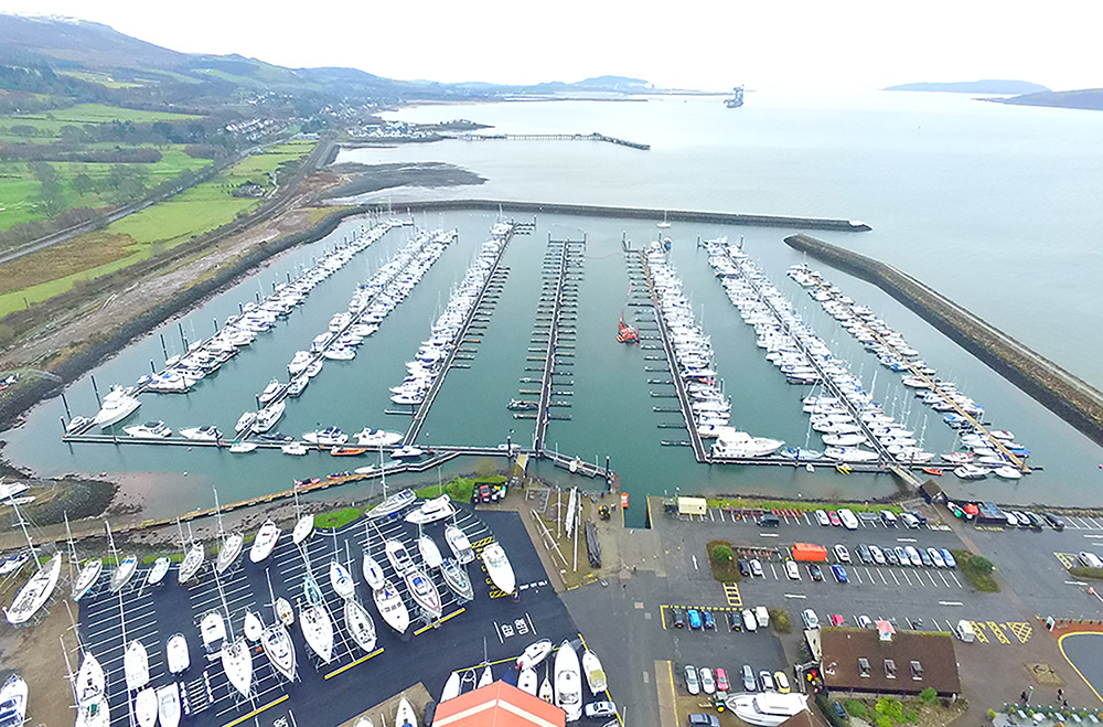 Largs Yacht Haven improvements