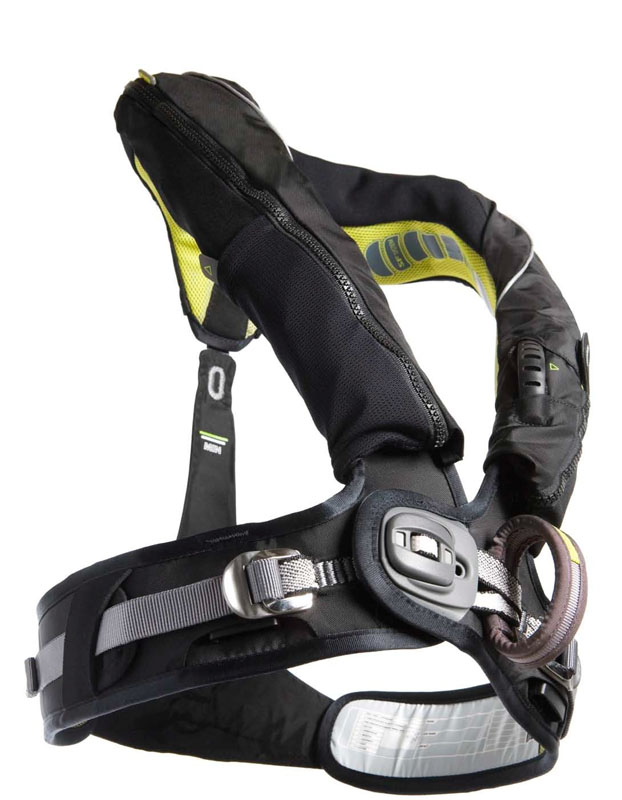 Spinlock Deckvest 5D lifejacket.