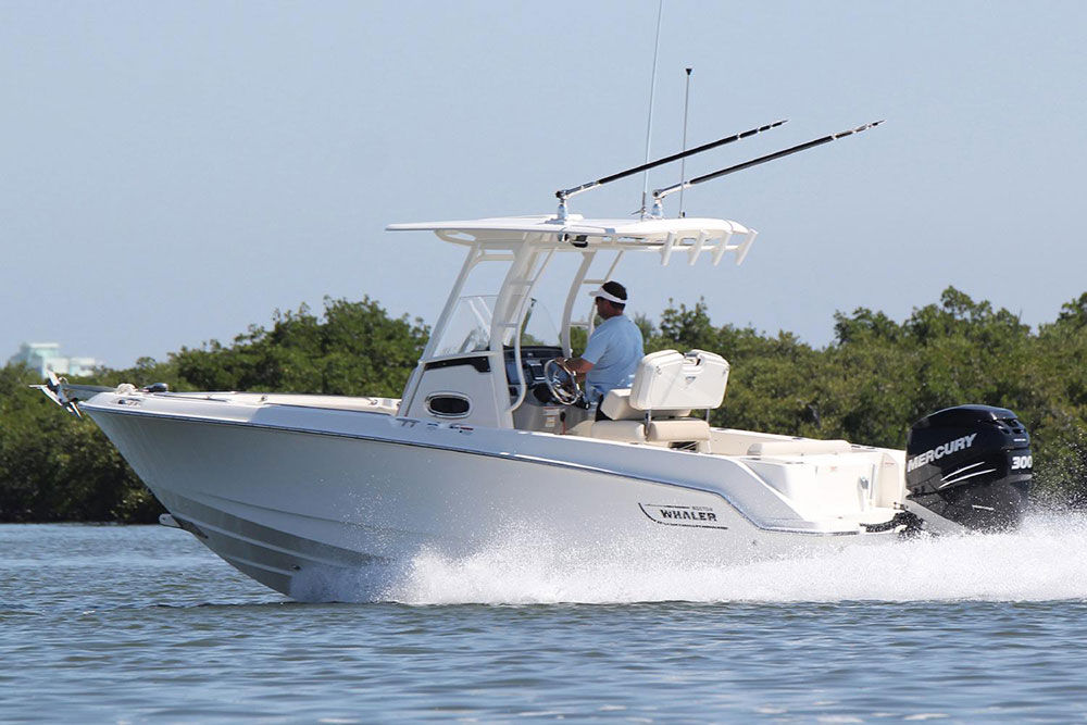 Powerboats at Southampton: : Boston Whaler 230 Outrage