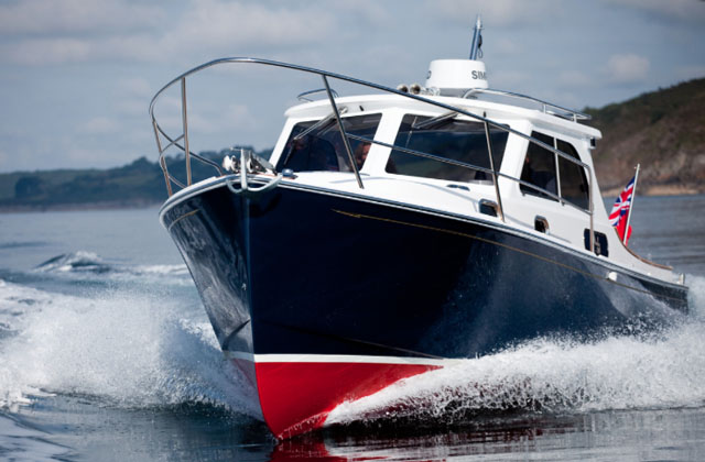 Duchy 27: boats for powerboating couples