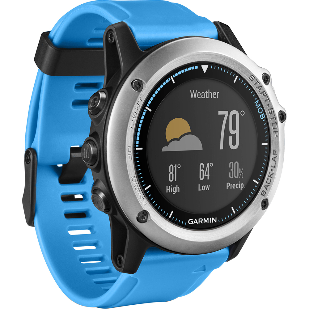 Sailing watch:  Garmin Quatix 3