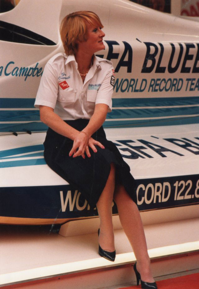 Great powerboating ladies: Gina Campbell