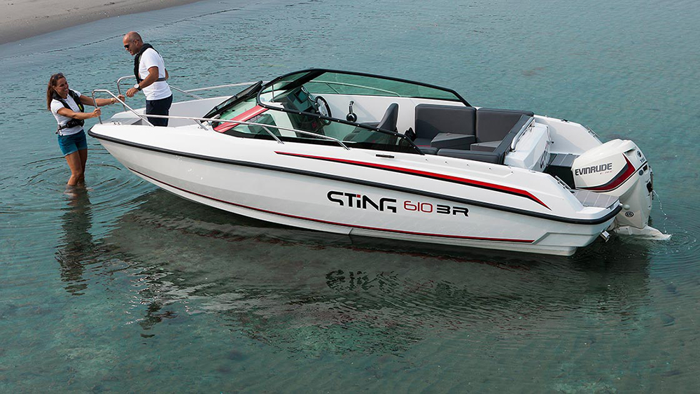 Sting 610 doesn't feel like a budget boat
