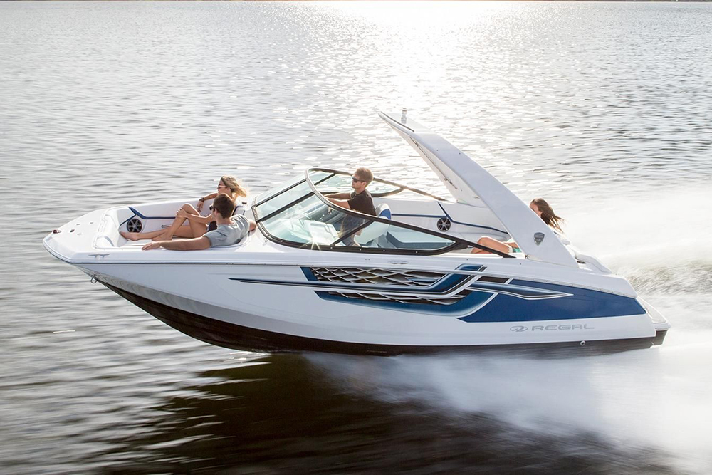 Deck Boats; Regal 22 Fasdeck ESX