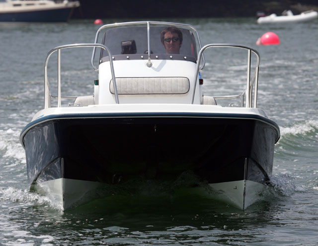Multihull powerboat