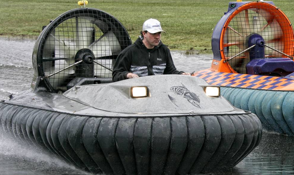 The Coastal-Pro is one of the best hovercraft for limited noise and uprated carrying capacity