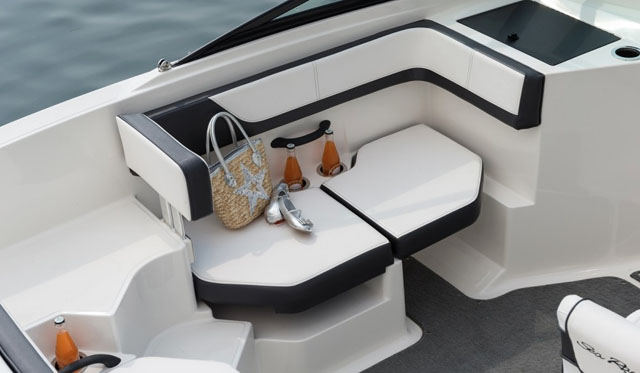 Transom walkway: Sea Ray 19 SPX