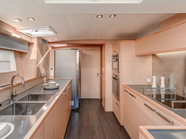 Galley location: Lagoon 630 review