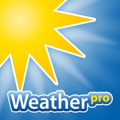 Weather Pro app for iOS and Android