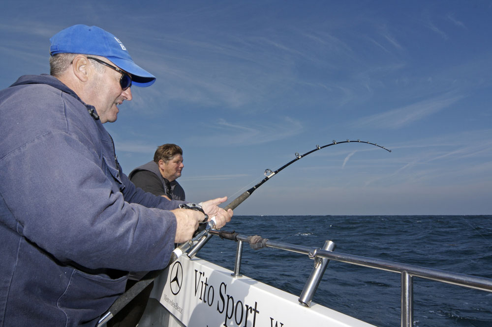 Chris Caines – guide to boat fishing in the UK