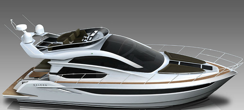Galeon Skydeck – innovative boat designs