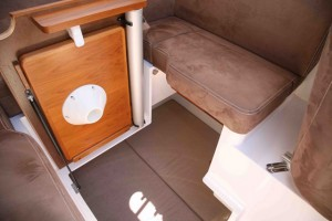 Second double berth
