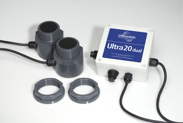 Ultrasonic alternative to antifouling