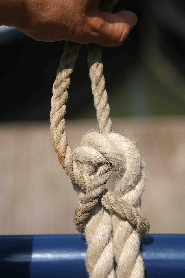Основные узлы для катания на лодках: изгиб листа