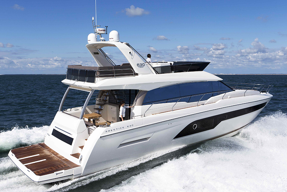 London Boat Show: Prestige 630