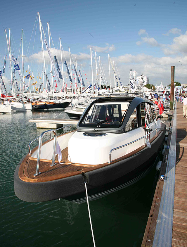 The 'Try a Boat' scheme at the Southampton Boat Show is extremely popular.