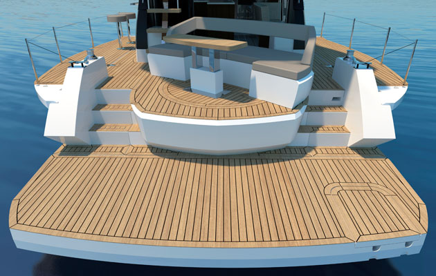 Galeon 500 Fly – innovative boat designs