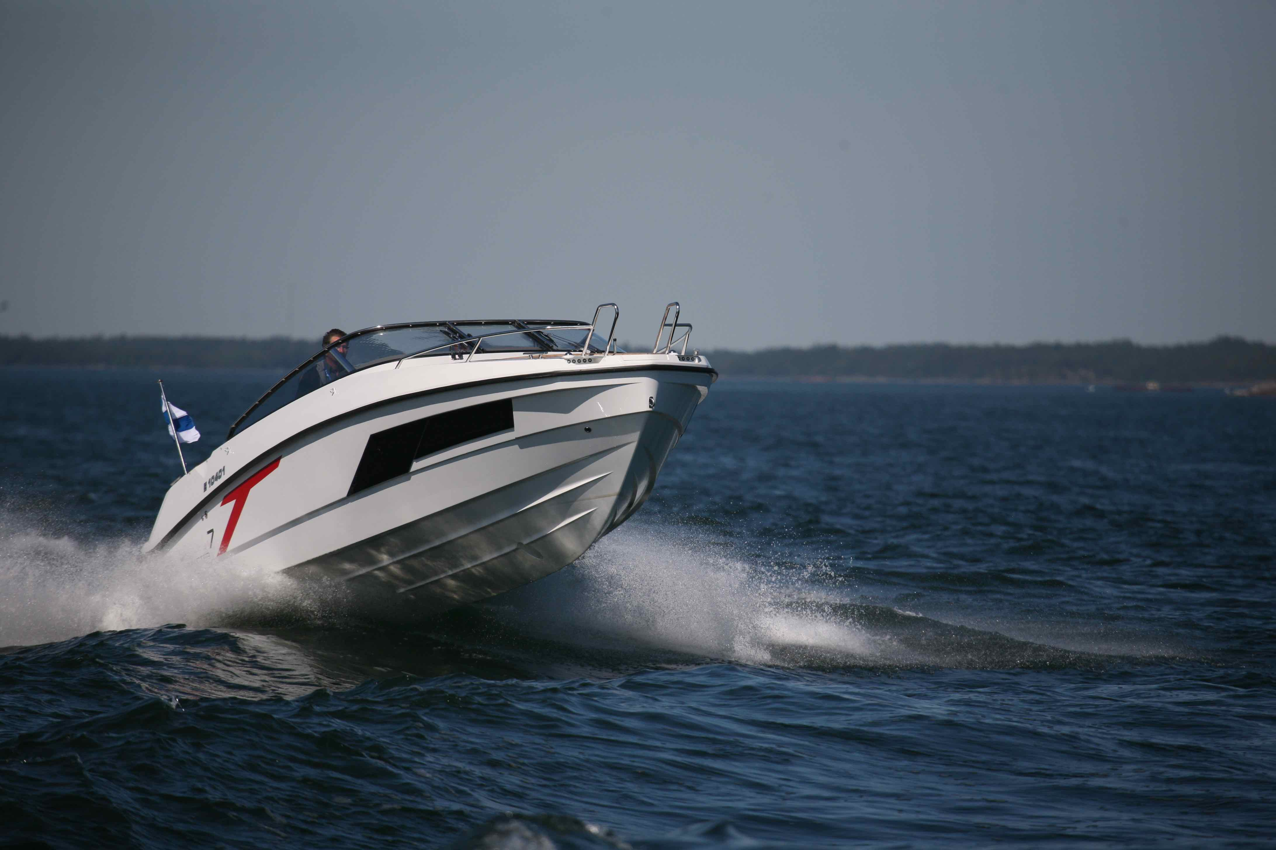 Done right, a good cuddy combines overnighting ability with an authentic sports boating experience