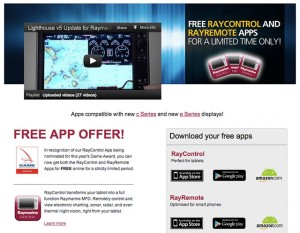 Raymarine apps for free