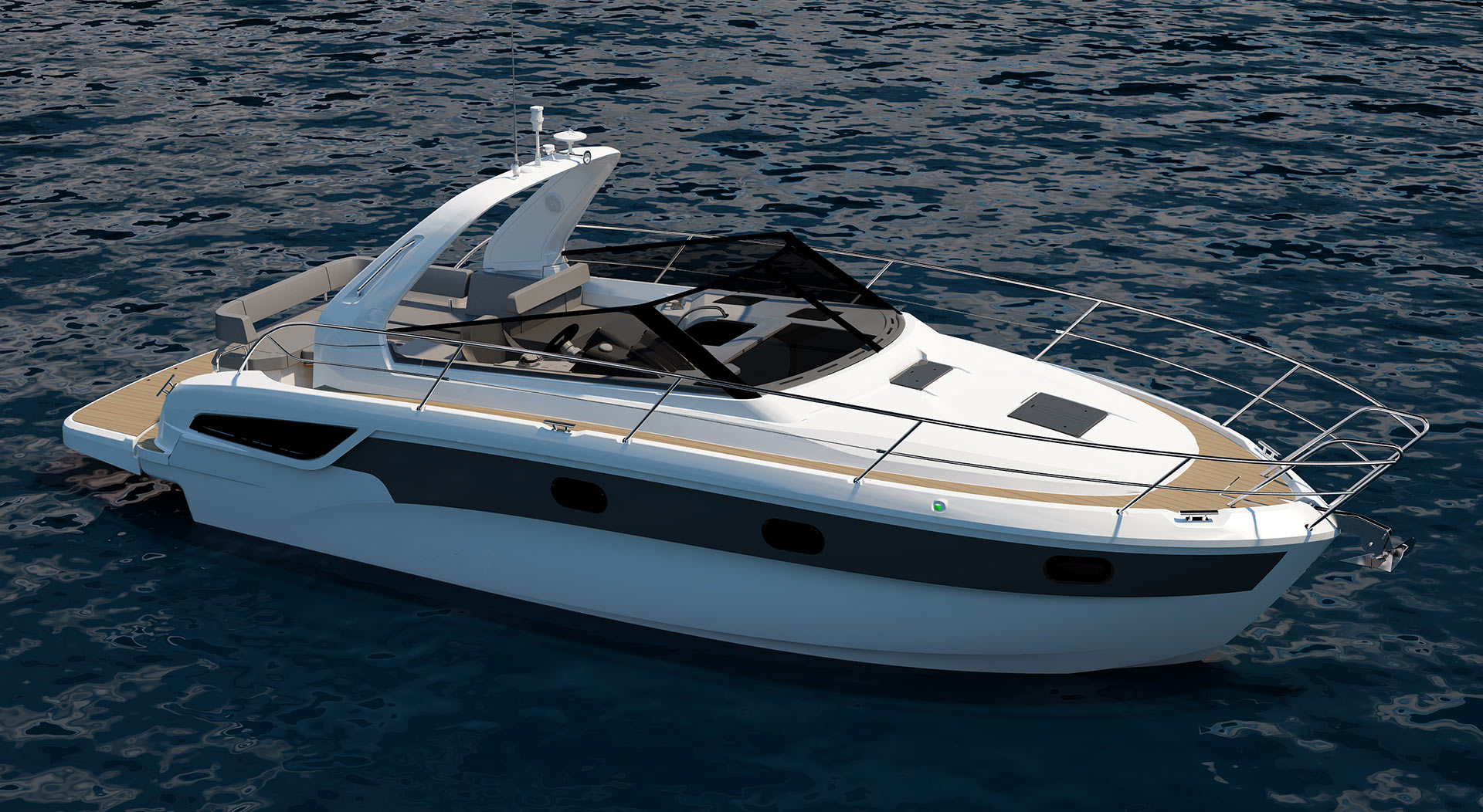Bavaria 330 Open: 30ft family powerboats