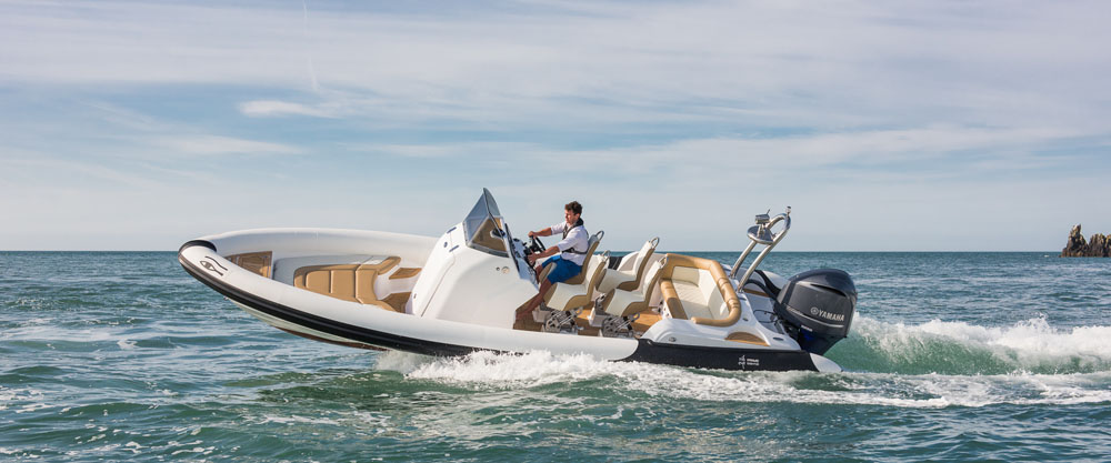 Ribeye Prime 21-footer – outstanding powerboats at Southampton 2015