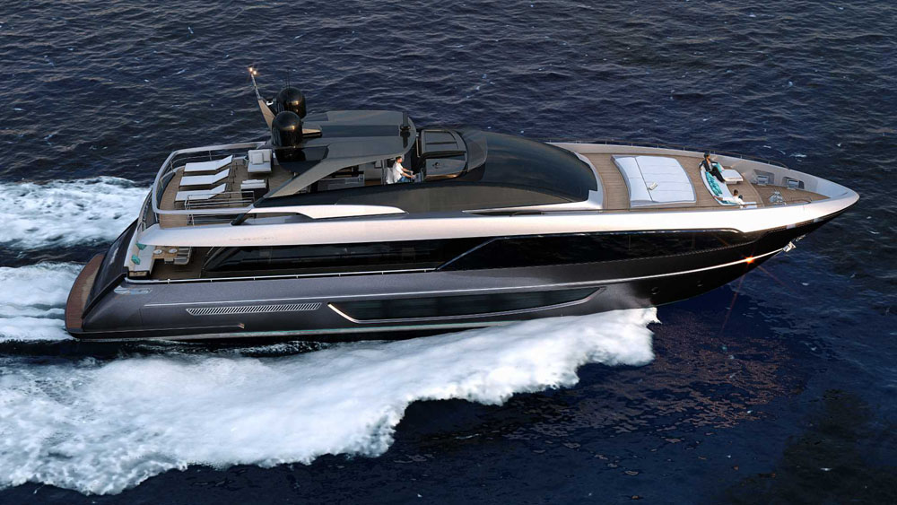 Riva 100 Corsaro - best big party boats