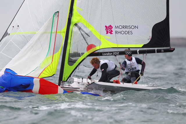 Crunch day for Olympic sailors