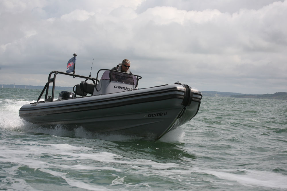 Gemini 650 leisure RIB: best first powerboats