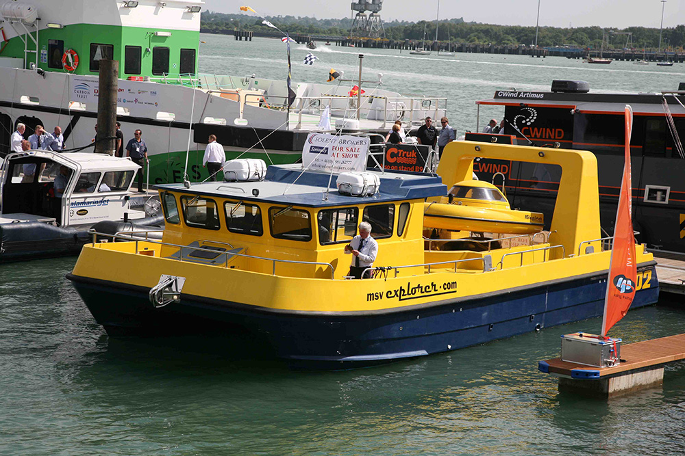 MSV Explorer at Seawork