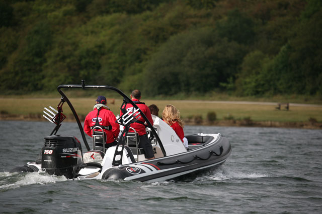 Skua RB6 RIB with Suzuki DF150