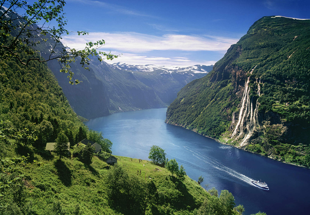 Charter destinations: Norway