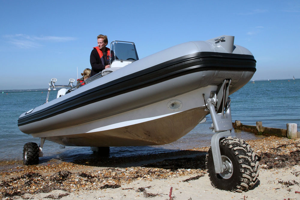 Sealegs – innovative boat designs