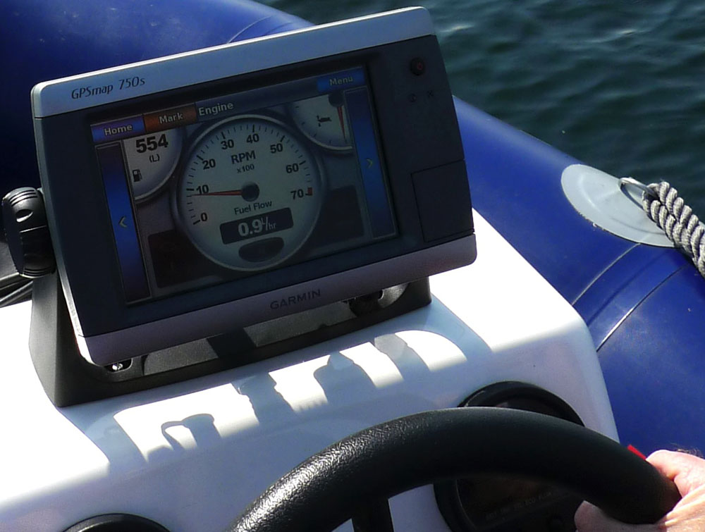 Assess range and long-term fuel economy during a sea trial