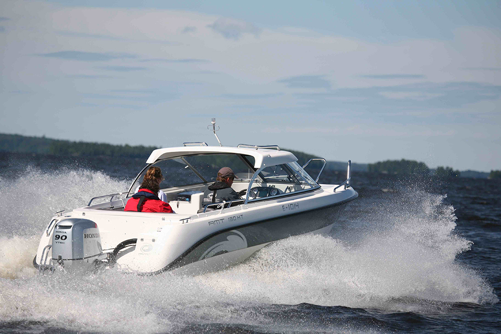 20-foot powerboats AMT 190HT
