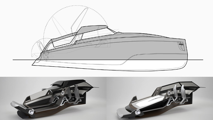 Removable roof panels – innovative boat design