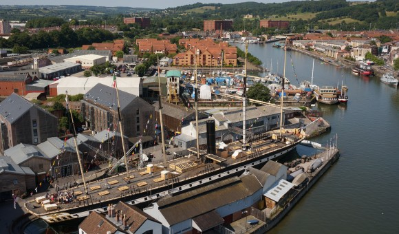 Bristol Docks: top Uk canal holiday destinations