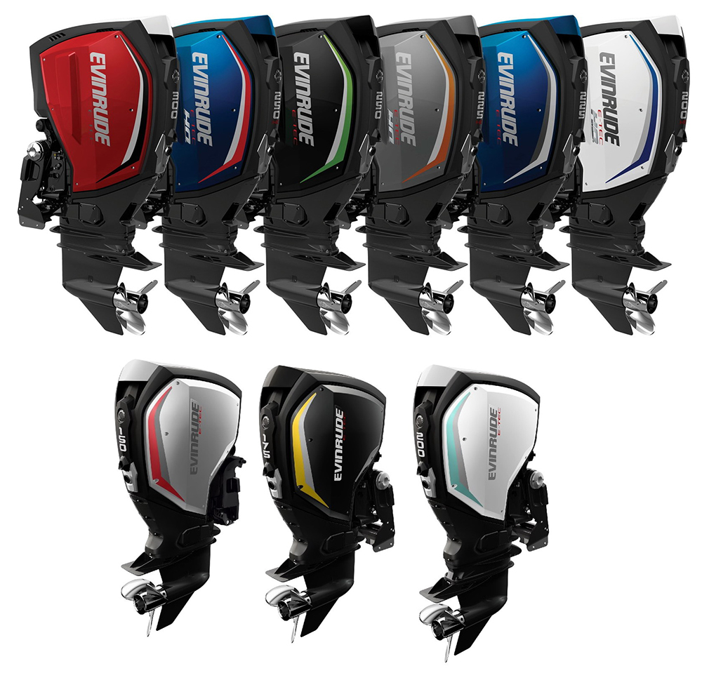 Outboard engines: Evinrude G2 line-up