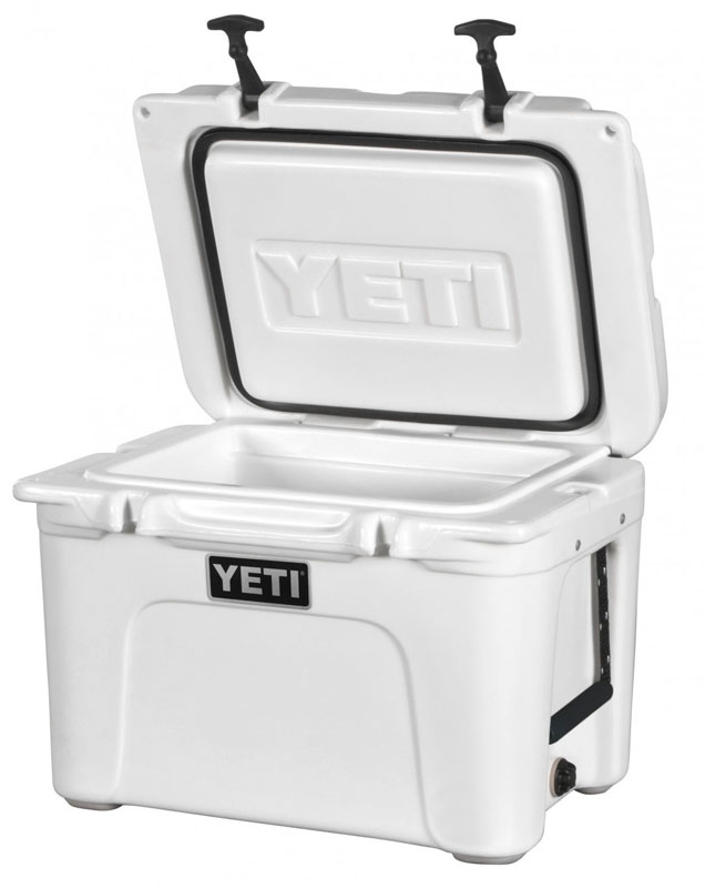 Yeti Tundra cool box.