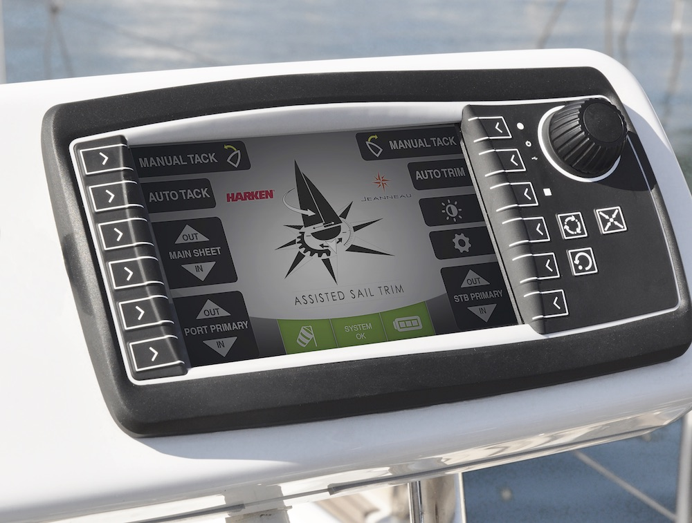 Assisted sail trim controller