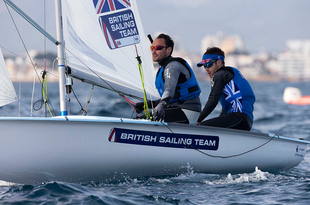 Luke Patience and Elliot Willis. Photo Ocean Images/British Sailing Team.