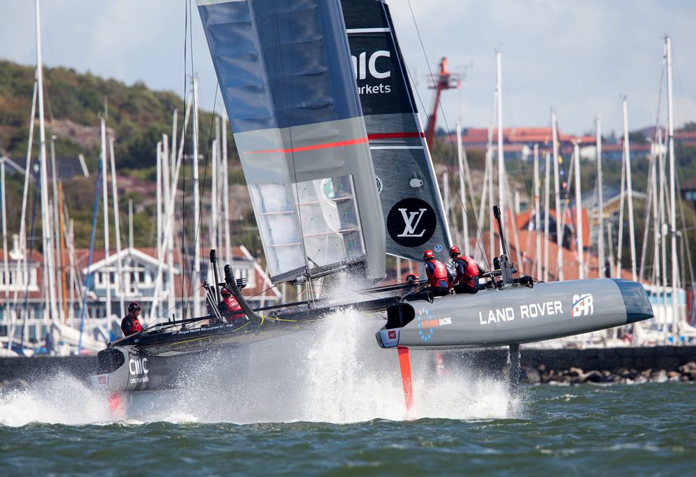 America's Cup World Series action.